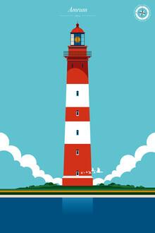 Bo Lundberg, Lighthouse Amrum (Germany, Europe)