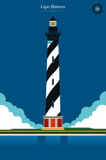 Bo Lundberg, Lighthouse Cape Hatteras (United States, North America)