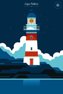 Bo Lundberg, Lighthouse Cape Palliser (New Zealand, Oceania)