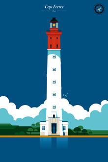 Bo Lundberg, Lighthouse Cape Ferret (France, Europe)