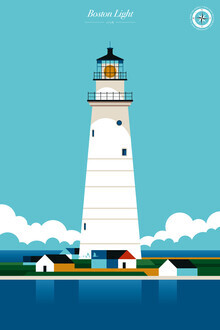 Bo Lundberg, Lighthouse Boston Light (United States, North America)