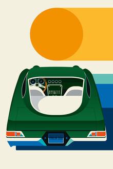 Bo Lundberg, Green Vintage Sportscar #2 (Germany, Europe)