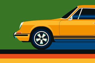 Bo Lundberg, Vintage Sports Car Yellow Green (Deutschland, Europa)