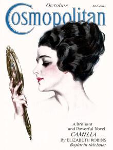 Vintage Collection, Cosmopolitan Cover Oktober 1917 (Vereinigte Staaten, Nordamerika)