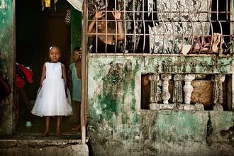 Frank Domahs, Ein Mädchen aus Sitè Soley, Port-au-Prince (Haiti, Latin America and Caribbean)