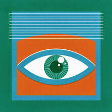 Ania Więcław, One Look Is Enough - green eye (Poland, Europe)