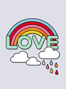Ania Więcław, Rainbow Love Typography (Poland, Europe)