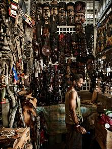 Frank Domahs, Kunsthandwerk im Eisenmarkt (Haiti, Lateinamerika und die Karibik)