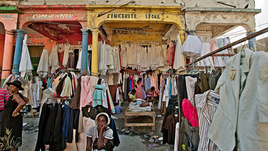 Frank Domahs, street market in Port-au-Prince (Haiti, Latin America and Caribbean)