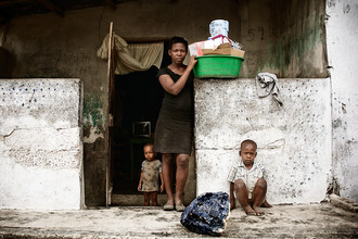 Frank Domahs, Pierre Lajeunesse (25) aus Sité Soley (Haiti, Latin America and Caribbean)
