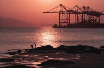 AJ Schokora, Sunset in Xiamen (China, Asien)
