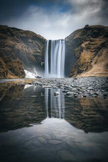 Jean Claude Castor, Island Stkokksnes Wasserfall (Island, Europa)