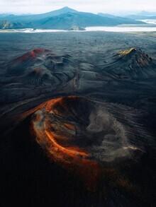 André Alexander, Vulkan Krater III (Island, Europa)