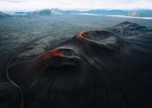 André Alexander, Vulkan Krater II (Island, Europa)