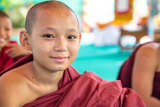 Miro May, Monk (Myanmar, Asia)