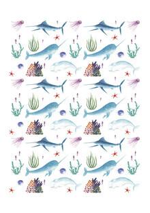 Marta Casals Juanola, Oceanic print (Spain, Europe)