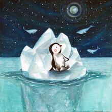 Marta Casals Juanola, Penguin on iceberg (Spain, Europe)