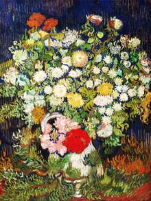 Art Classics, Vincent Van Gogh: Bouquet of Flowers in a Vase (Netherlands, Europe)