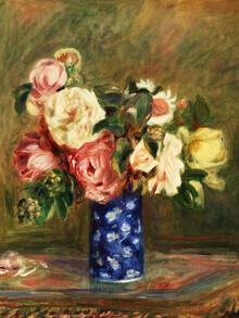 Art Classics, Pierre-Auguste Renoir: Le Bouquet de roses (France, Europe)