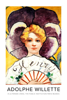 Art Classics, Adolphe Willette: À la Pensée (France, Europe)