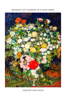 Art Classics, Vincent Van Gogh: Bouquet of Flowers in a Vase - exhibition poster (Netherlands, Europe)