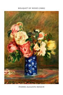 Art Classics, Pierre-Auguste Renoir: Le Bouquet de roses - exhibition poster (France, Europe)