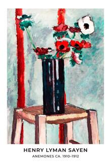 Art Classics, Henry Lyman Saÿen: Anemones - exhibition poster (United States, North America)