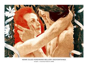 Art Classics, Henri Jules Ferdinand Bellery–Desfontaines: Enigma - exh. poster (France, Europe)