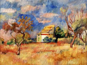 Art Classics, Pierre-Auguste Renoir: Dovecote at Bellevue (, )