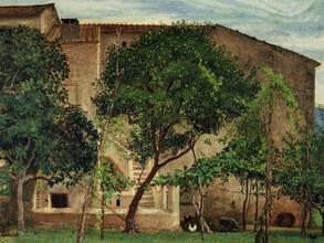 Art Classics, Walter Crane: Italian Farmhouse (United Kingdom, Europe)