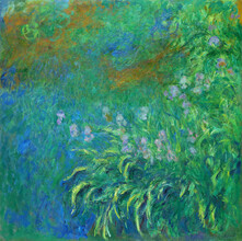 Art Classics, Claude Monet: Irises (Germany, Europe)