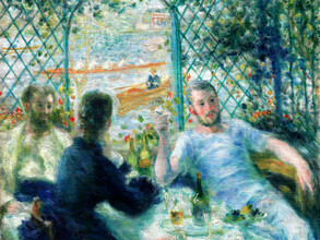 Art Classics, Pierre-Auguste Renoir: Lunch at the Restaurant Fournaise (Germany, Europe)