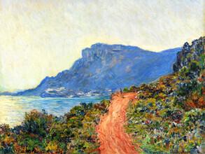Art Classics, Claude Monet: La Corniche near Monaco (France, Europe)