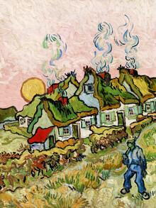 Art Classics, Vincent Van Gogh: Houses and Figure (Netherlands, Europe)