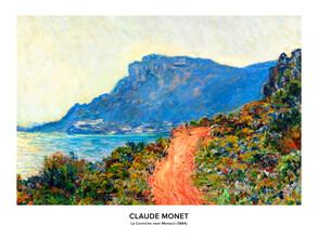 Art Classics, Claude Monet: La Corniche near Monaco - exhibition poster (Germany, Europe)