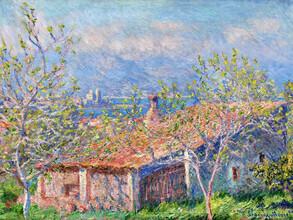 Art Classics, Claude Monet: Gardener's House at Antibes (France, Europe)