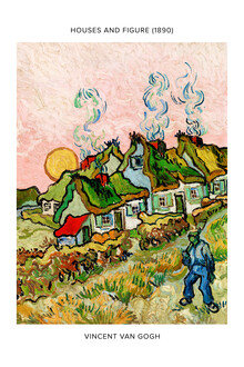 Art Classics, Vincent Van Gogh: Houses and Figure - exhibition poster (Netherlands, Europe)