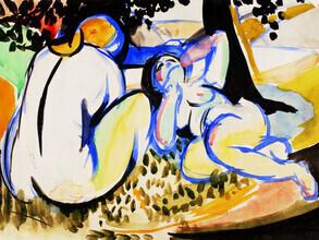 Art Classics, Henry Lyman Saÿen: Nudes (France, Europe)