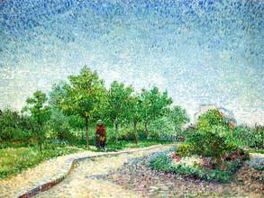 Art Classics, Vincent Van Gogh: Square Saint-Pierre (France, Europe)