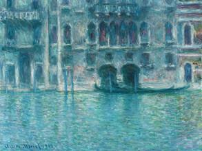 Art Classics, Claude Monet: Palazzo da Mula, Venice (Italy, Europe)