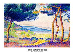Art Classics, Henri-Edmond Cross: Pines Along the Shore - exh. poster (France, Europe)