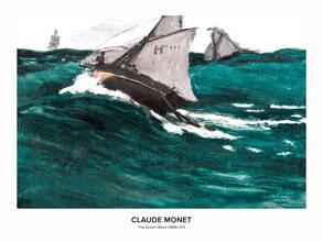 Art Classics, Claude Monet: Die Grüne Welle - Ausstellungsposter (Frankreich, Europa)