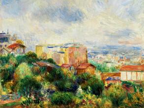 Art Classics, Pierre-Auguste Renoir: Vue de Montmartre (Frankreich, Europa)