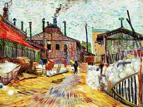 Art Classics, Vincent Van Gogh: The Factory (Netherlands, Europe)