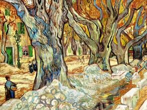 Art Classics, Vincent Van Gogh: The Large Plane Trees (Netherlands, Europe)