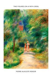 Art Classics, Pierre-Auguste Renoir: Deux figures dans un sentier - exhib. poster (France, Europe)
