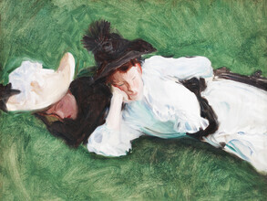 Art Classics, John Singer Sargent: Two Girls on a Lawn (United States, North America)