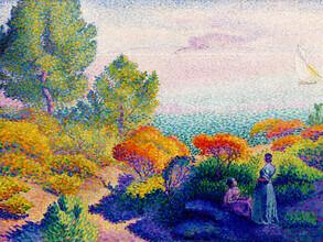 Art Classics, Henri-Edmond Cross: Zwei Frauen am Ufer (Frankreich, Europa)