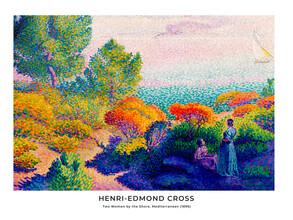 Art Classics, Henri-Edmond Cross: Two Women by the Shore - exhibition poster (France, Europe)