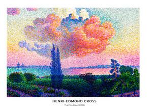 Art Classics, Henri-Edmond Cross: The Pink Cloud - exhibition poster (France, Europe)